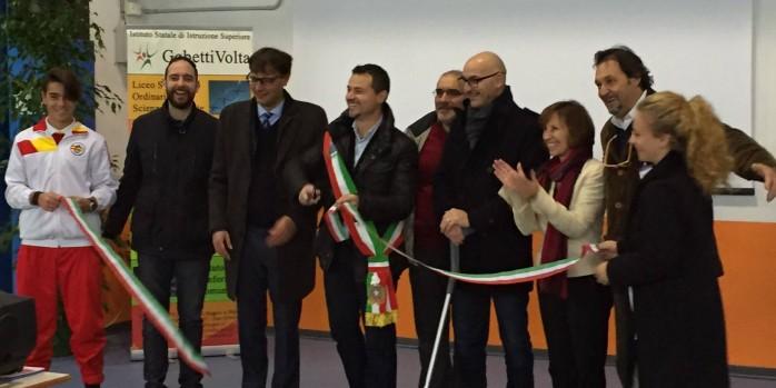 Inaugurata la palestra del gobetti volta danneggiata dai - Istituto gobetti bagno a ripoli ...