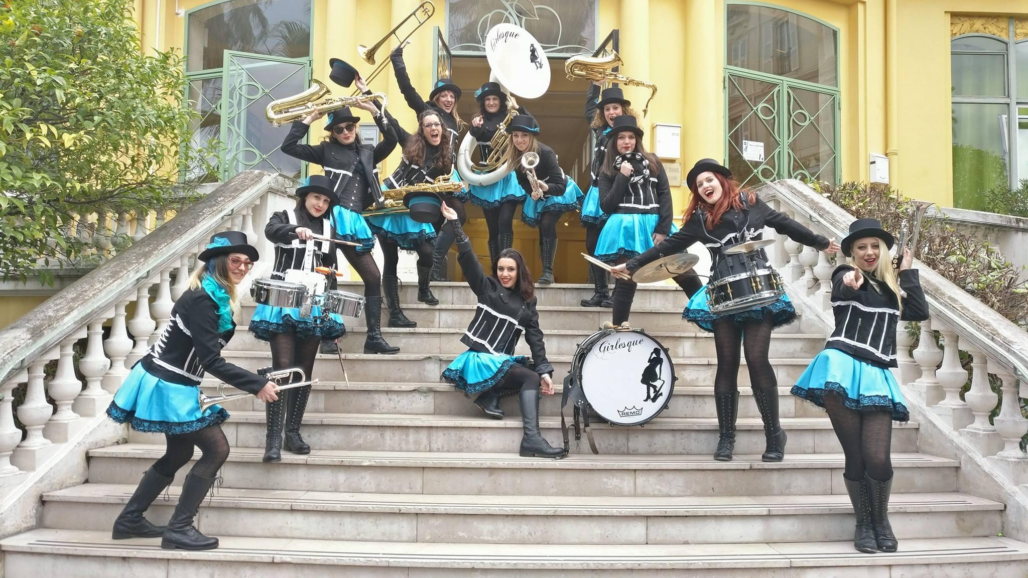 ... una street band tutta al femminile)  FOTO - Bagno a Ripoli eChianti